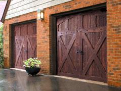 Wooden Garage Doors Houston
